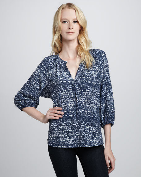 Addie B Printed Top