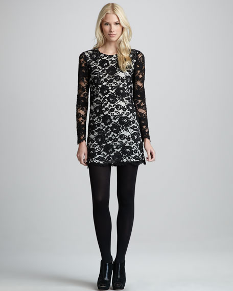 Marique Lace Shift Dress