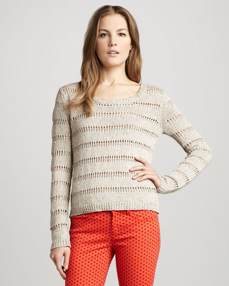 Versailles Sequined Sweater