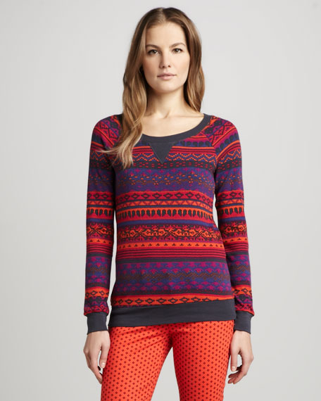 Breckenridge Fair Isle Top