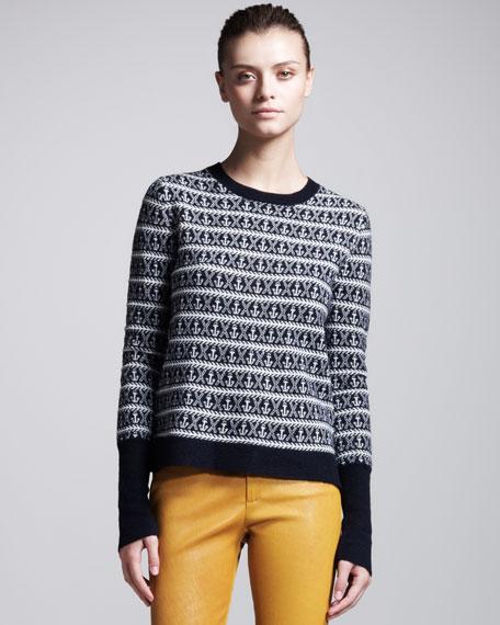Hamilton Anchor-Print Sweater