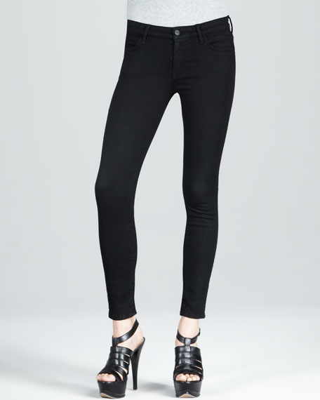 Cigarette Black Jeans
