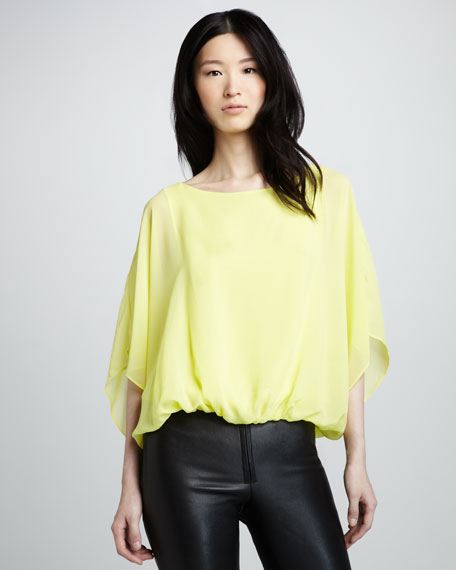 Kate Batwing-Sleeve Top