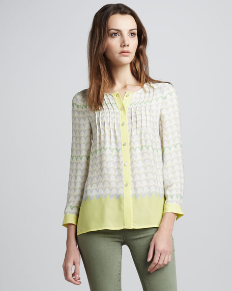 Burnside Printed Blouse