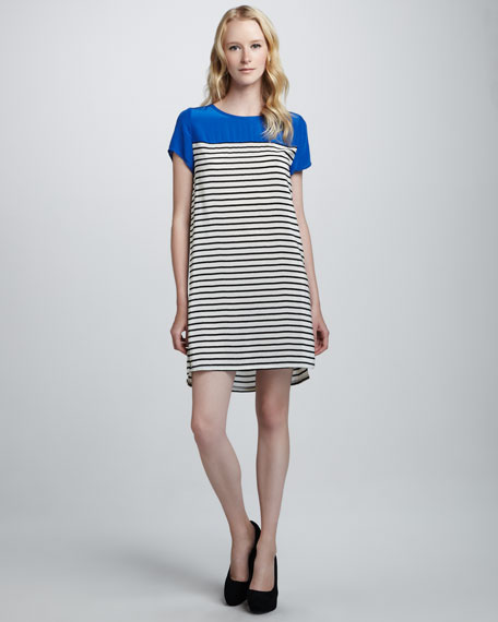 Momsen Striped Combo Dress
