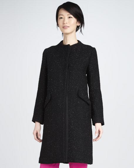 Louise Long Shimmery Coat