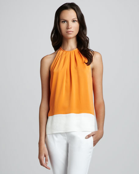 Milka C. Colorblock Blouse