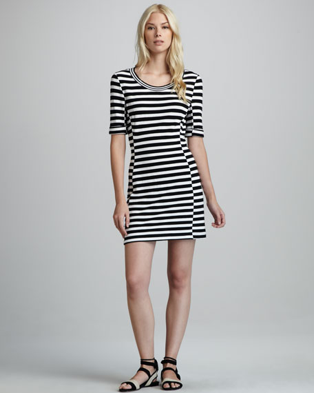 Sineda Striped Dress