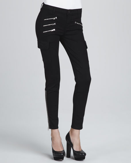 The Brix Zip-Pocket Skinny Jeans