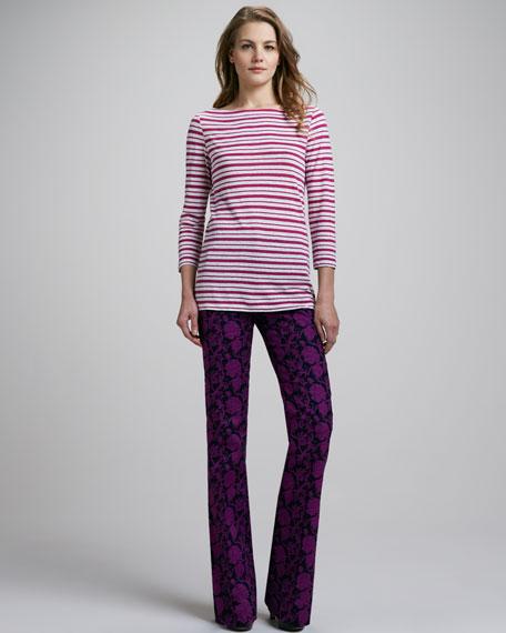 Drew Floral-Print Pants