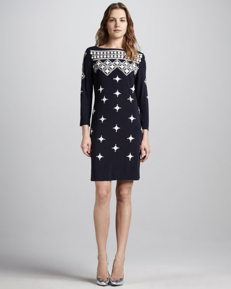 Alexandra Embellished Dress