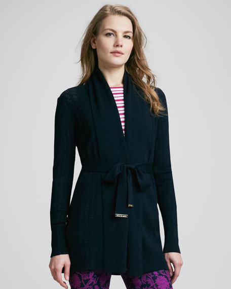 Natalie Tie-Waist Cardigan