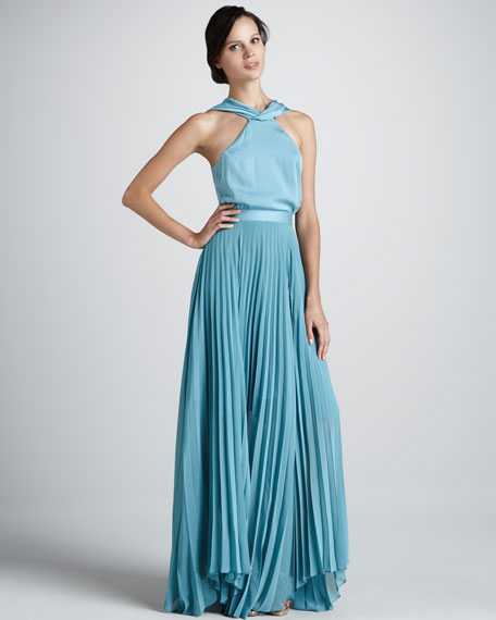Antalya Halter Maxi Dress