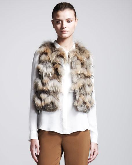 Zeila Short Fur Vest