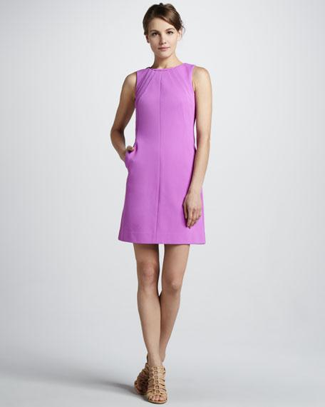 Capreena Crepe Shift Dress