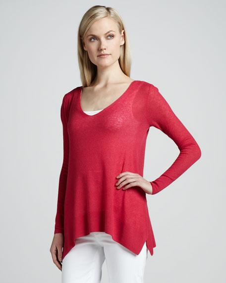 Sophia Cashmere-Silk Sweater