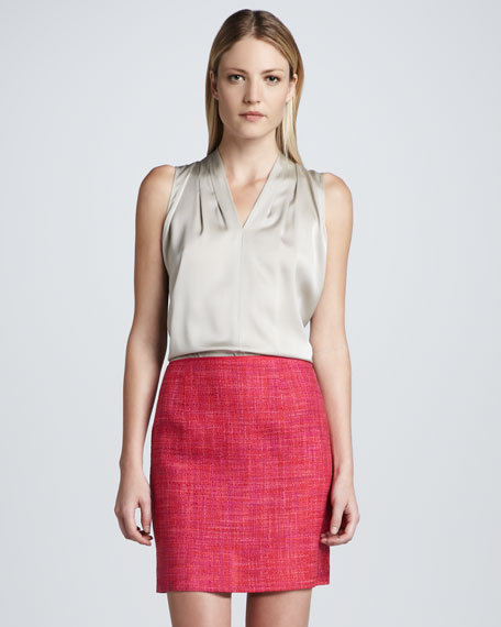 Alexis Tweed Skirt