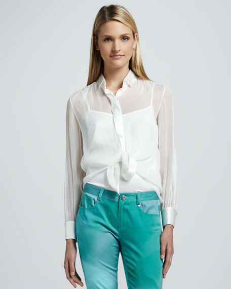 Robin Silk Blouse