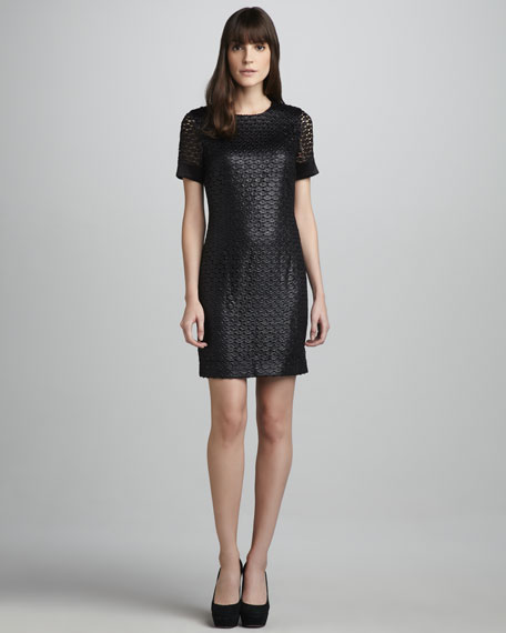 Cindy Scalloped Dress