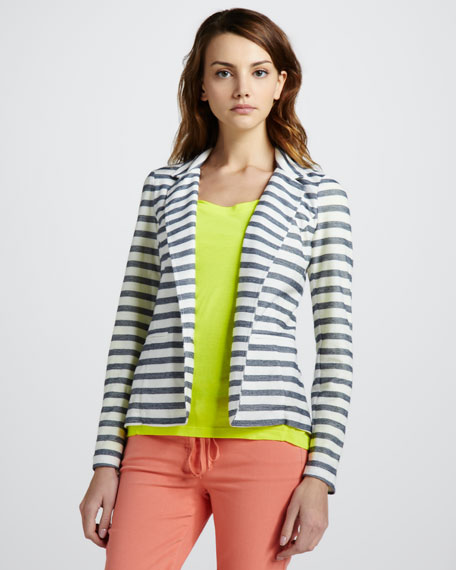 Nantucket Striped Blazer