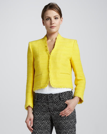 Princeton Boxy Tweed Jacket