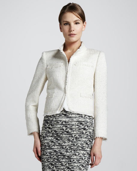 Fae Shimmery Tweed Jacket
