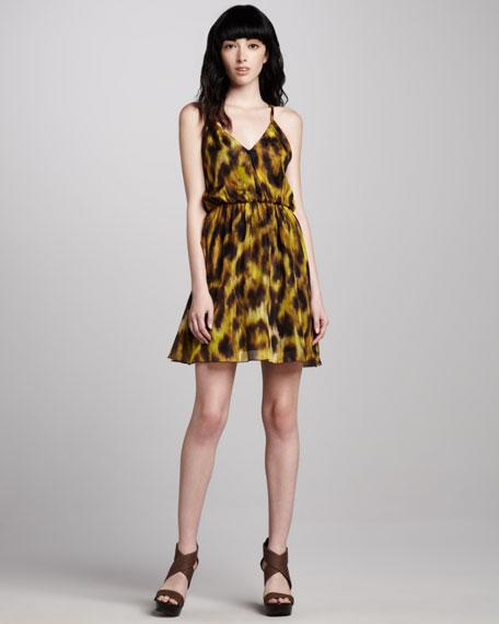 Kasia Printed Blouson Dress