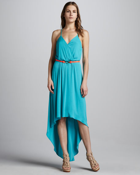 Jade High-Low Maxi Dress