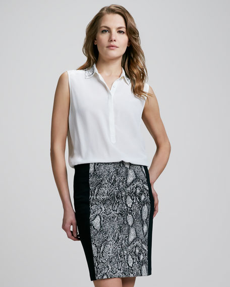 Python-Print Pencil Skirt