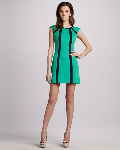 Underground Ponte Zip Dress