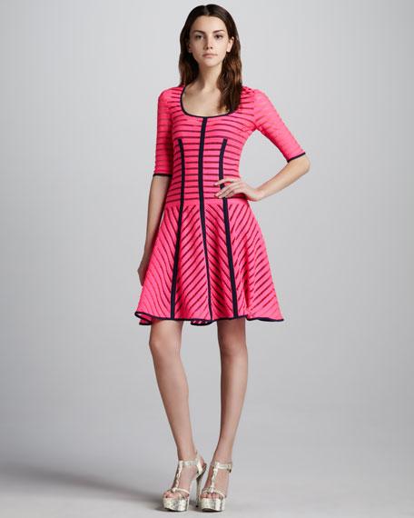 Auction Striped Knit Dress