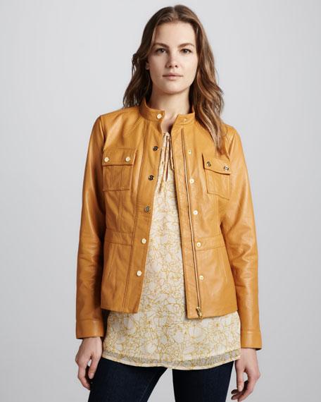 Beacon Leather Jacket