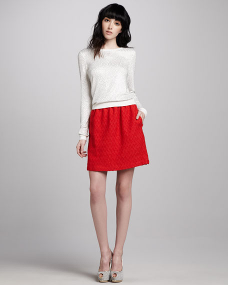 Weston Jacquard Skirt