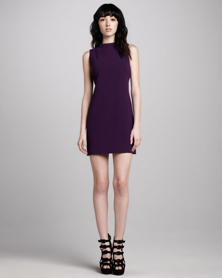 Darcey High-Neck Ponte Dress