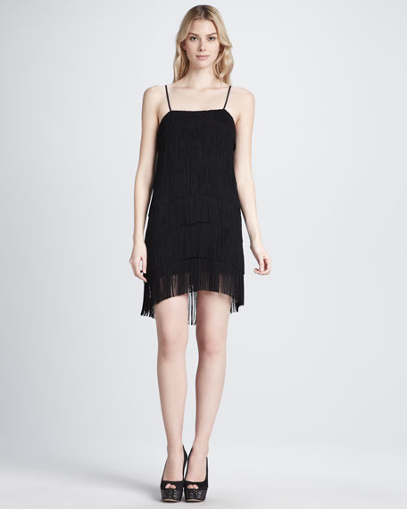 Cascading Fringe Dress
