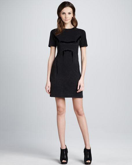 Cherry Jersey Dress