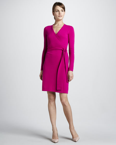 Linda Wrap Sweaterdress