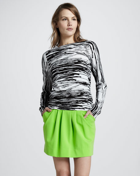 Jan Short Knit Skirt