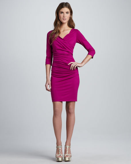 Bentley Ruched Short Dress