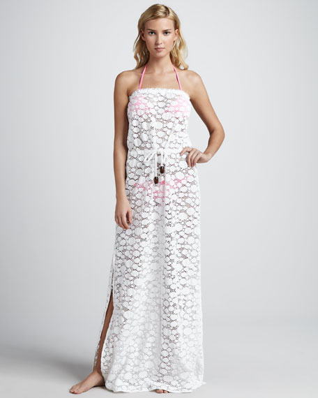 Pahala Dotted Maxi Coverup