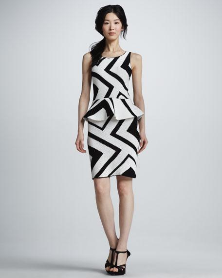 Monaco Zigzag Crochet Dress
