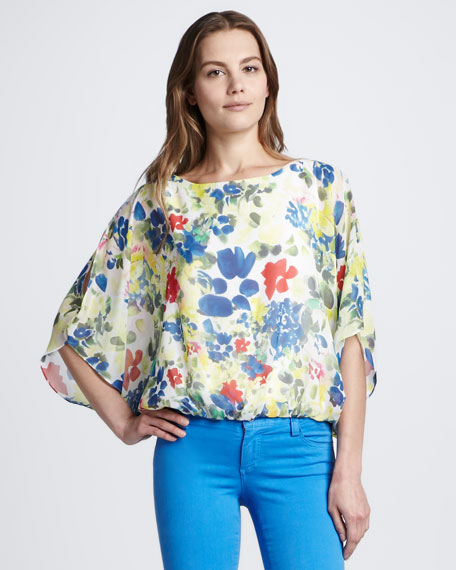Velma Floral-Print Top