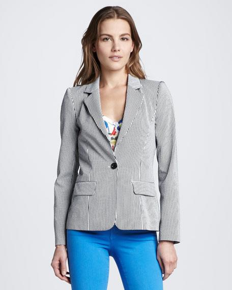 Elyse Skinny Stripe Blazer
