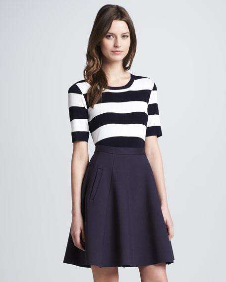 Gessi Crepe A-Line Skirt