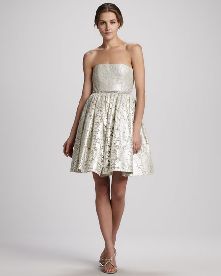 Nellie Strapless Cocktail Dress