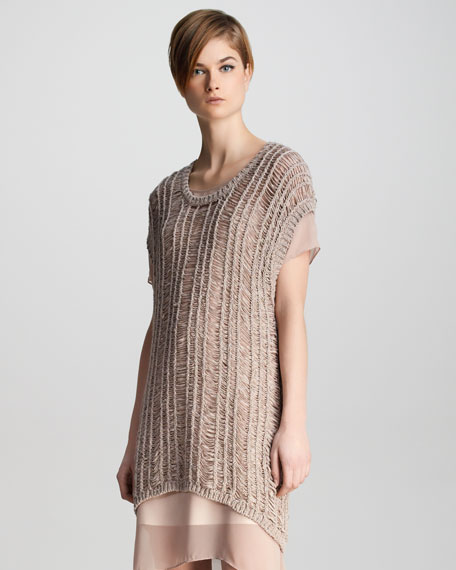 Greta Loose-Weave Sweater