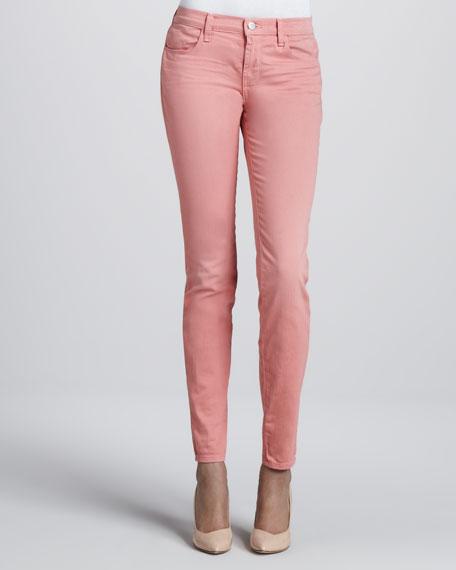 620 Super Skinny Washed Coho Jeans
