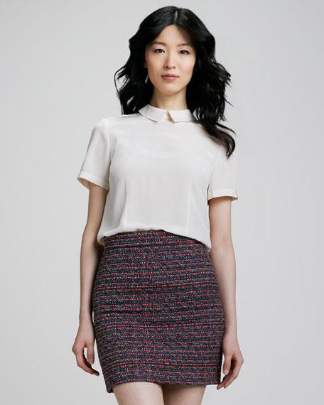 Miranda Tweed Pencil Skirt