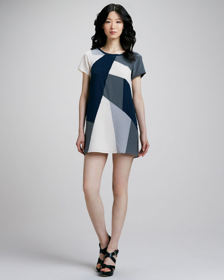 Bowery Printed Shift Dress