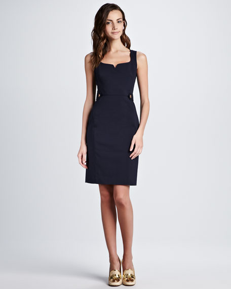 Tayler Tab-Side Dress
